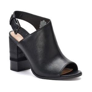Apt. 9® Profession Women's Peep Toe Ankle Boots